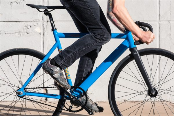 State Bicycle Co Black Label v2 Fixed Gear Bike - Typhoon Blue-6575