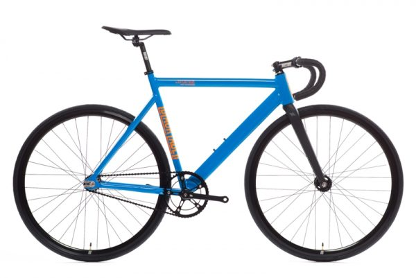 State Bicycle Co Black Label v2 Fixie Fiets - Typhoon Blauw-0