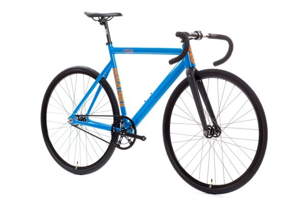 State Bicycle Co Black Label v2 Fixed Gear Bike - Typhoon Blue-6570