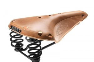 Brooks Flyer Select Zadel - Organic Leather-0