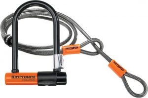 Kryptonite Evolution Mini 7 Beugelslot + Kabel 120CM-0