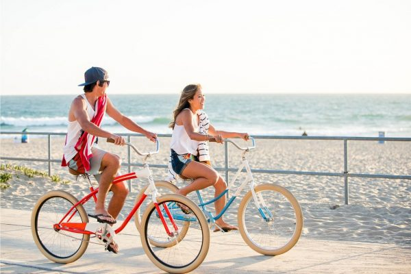 Pure Fix Classic Beach Cruiser Bike Brewster-6460