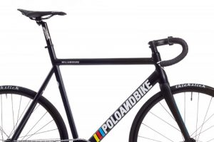 Poloandbike Williamsburg Fixed Gear Bicycle Black-6172