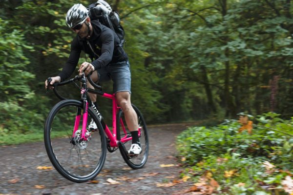 State Bicycle Co Thunderbird Singlespeed Cyclocross Bicycle Pink-6197