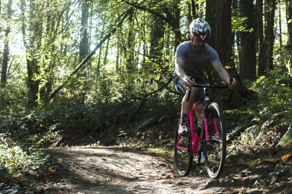 State Bicycle Co Thunderbird Singlespeed Cyclocross Bicycle Pink-6202