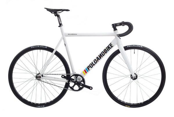 Poloandbike Williamsburg Fixie Fiets Wit-0
