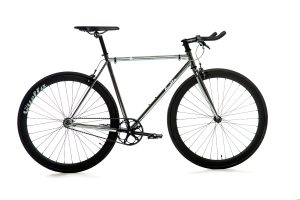 Quella Fixie Fiets Premium Varsity Collection - Imperial-0