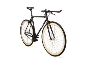 Quella Fixed Gear Bike Nero - Cream-6994