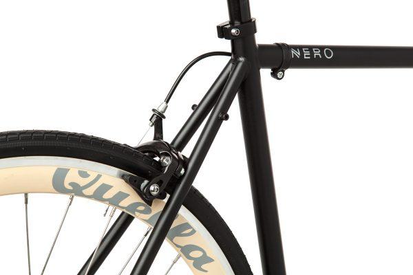 Quella Fixed Gear Bike Nero - Cream-6995