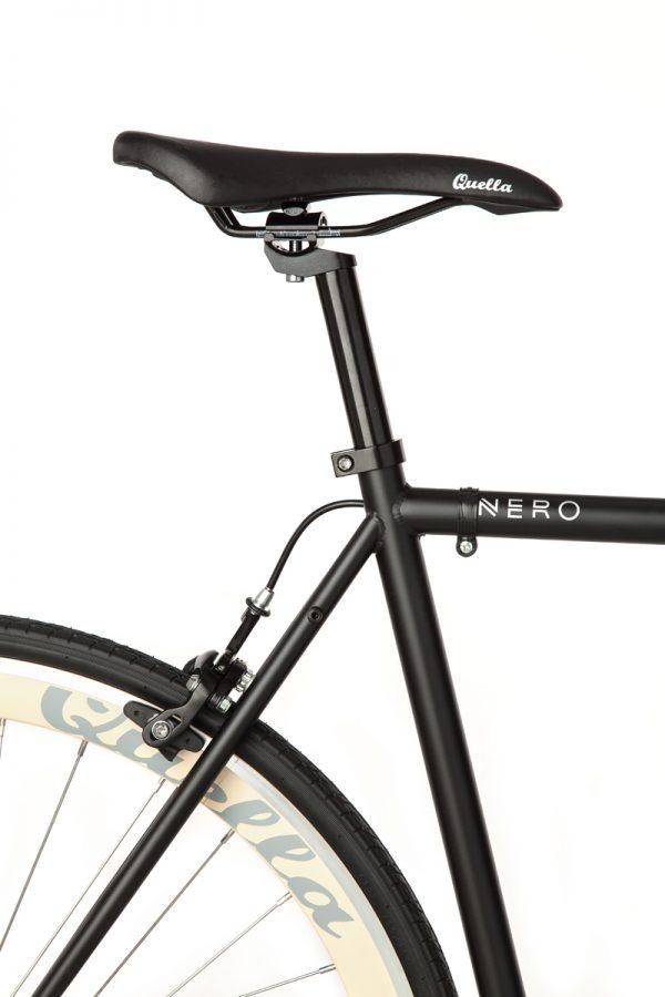 Quella Fixed Gear Bike Nero - Cream-6997