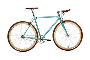 Quella Fixie Fiets Premium Varsity Collection - Cambridge-0