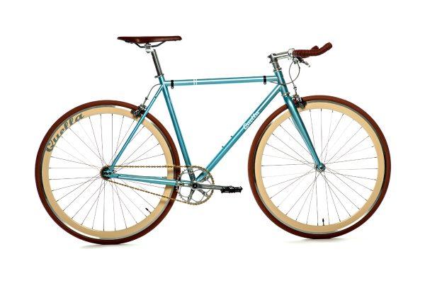 Quella Fixie Fiets Premium Varsity Collection - Cambridge-0