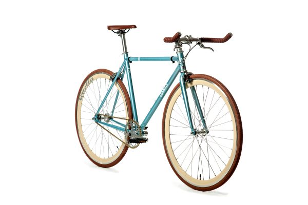 Quella Fixed Gear Bike Premium Varsity Collection - Cambridge-7042