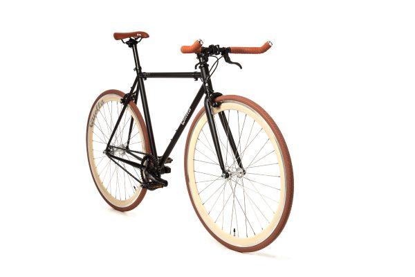 Quella Fixed Gear Bike Nero - Cappuccino-7011