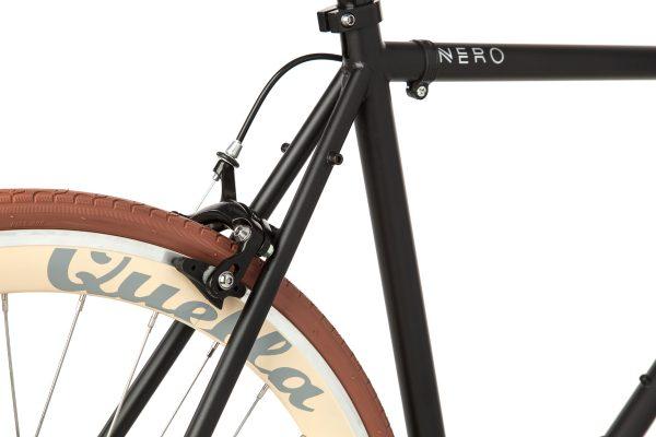 Quella Fixed Gear Bike Nero - Cappuccino-7014