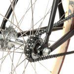 Quella Fixed Gear Bike Nero – Cappuccino-7015