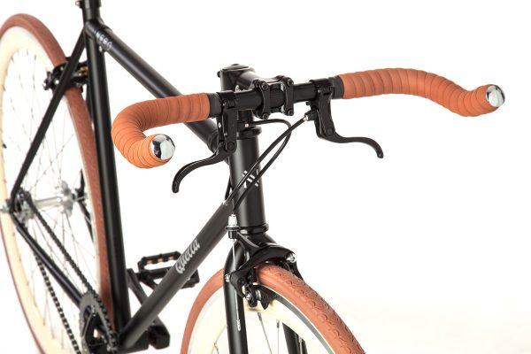 Quella Fixed Gear Bike Nero - Cappuccino-7016
