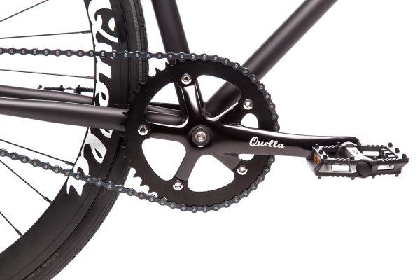 Quella Fixed Gear Bike Nero - Black-6953