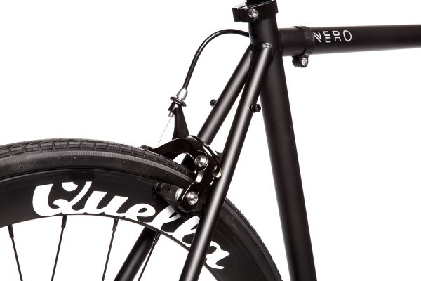 Quella Fixed Gear Bike Nero - Black-6956