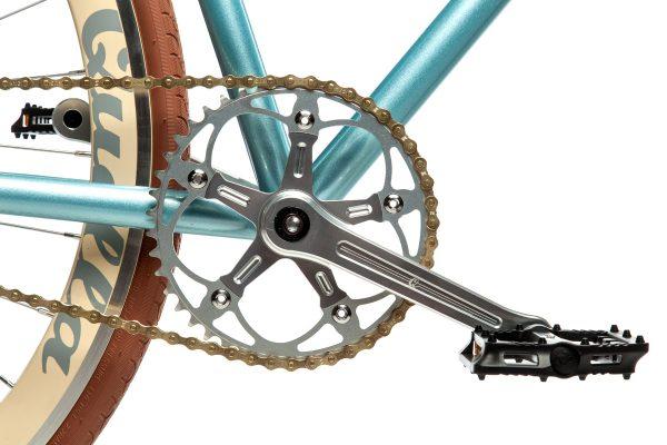 Quella Fixed Gear Bike Premium Varsity Collection - Cambridge-7044