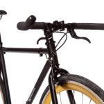 Quella Fixed Gear Bike Nero – Gold-6967