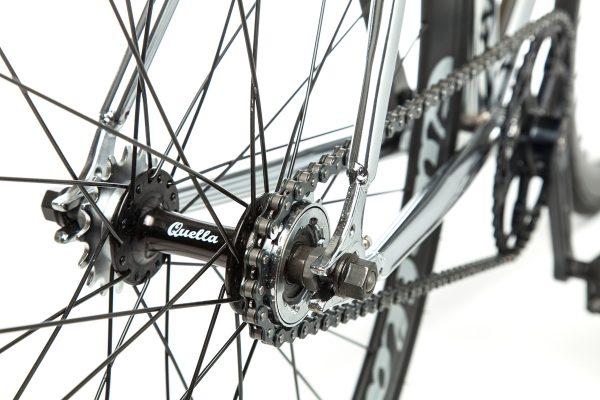 Quella Fixed Gear Bike Premium Varsity Collection - Imperial-7037
