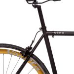 Quella Fixed Gear Bike Nero – Gold-6968