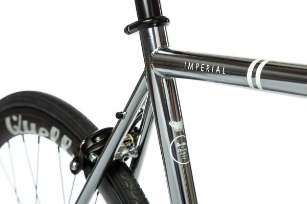 Quella Fixed Gear Bike Premium Varsity Collection - Imperial-7038