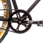 Quella Fixed Gear Bike Nero – Gold-6969