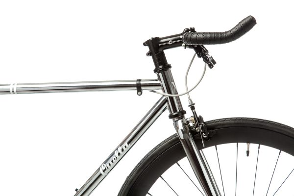 Quella Fixed Gear Bike Premium Varsity Collection - Imperial-7040