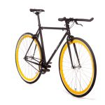 Quella Fixed Gear Bike Nero – Yellow-7001