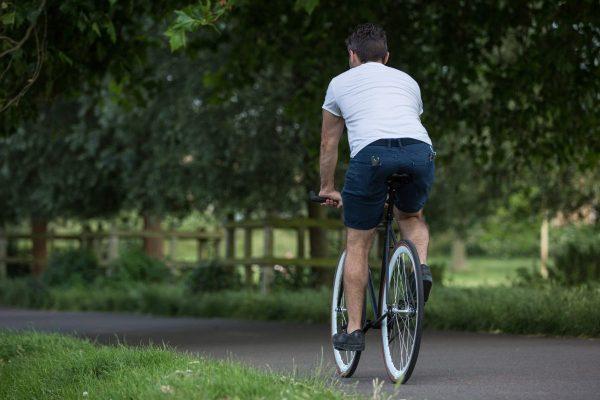 Quella Fixed Gear Bike Nero - White-6981