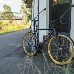 Quella Fixed Gear Bike Nero – Gold-6972