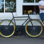 Quella Fixed Gear Bike Nero – Gold-6973