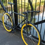 Quella Fixed Gear Bike Nero – Yellow-7007