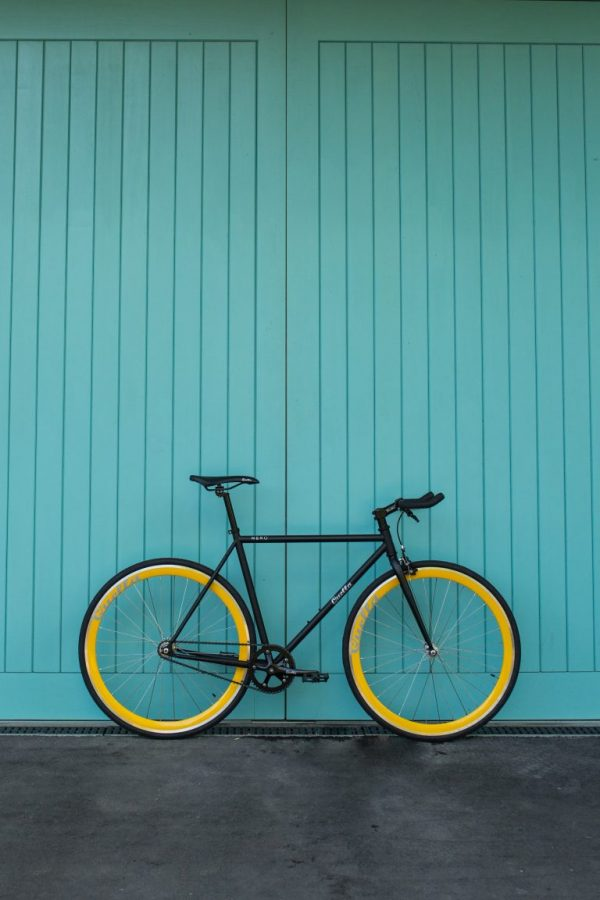 Quella Fixed Gear Bike Nero - Yellow-7008
