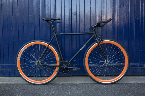 Quella Fixed Gear Bike Nero – Orange-6990