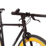 Quella Fixed Gear Bike Nero – Yellow-7002