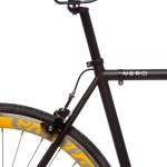 Quella Fixed Gear Bike Nero – Yellow-7003