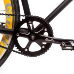 Quella Fixed Gear Bike Nero – Yellow-7004