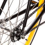 Quella Fixed Gear Bike Nero – Yellow-7005