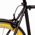 Quella Fixed Gear Bike Nero – Yellow-7006