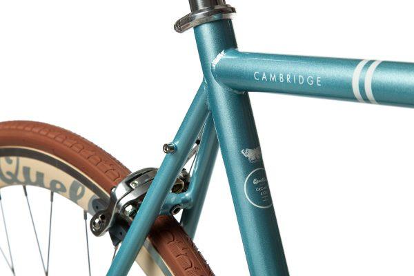 Quella Fixed Gear Bike Premium Varsity Collection - Cambridge-7046