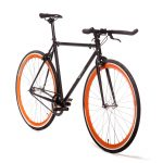 Quella Fixed Gear Bike Nero – Orange-6984