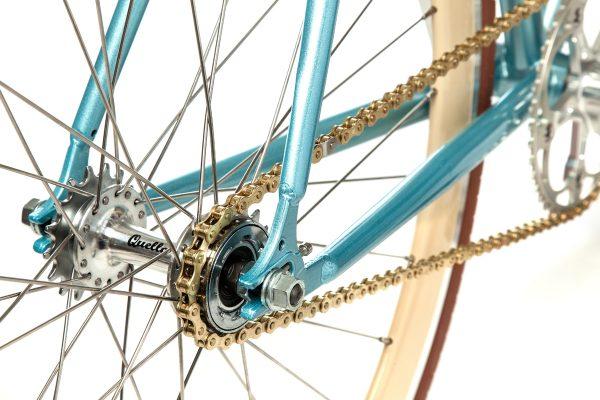 Quella Fixed Gear Bike Premium Varsity Collection - Cambridge-7047