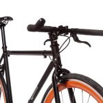 Quella Fixed Gear Bike Nero – Orange-6985