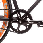 Quella Fixed Gear Bike Nero – Orange-6986