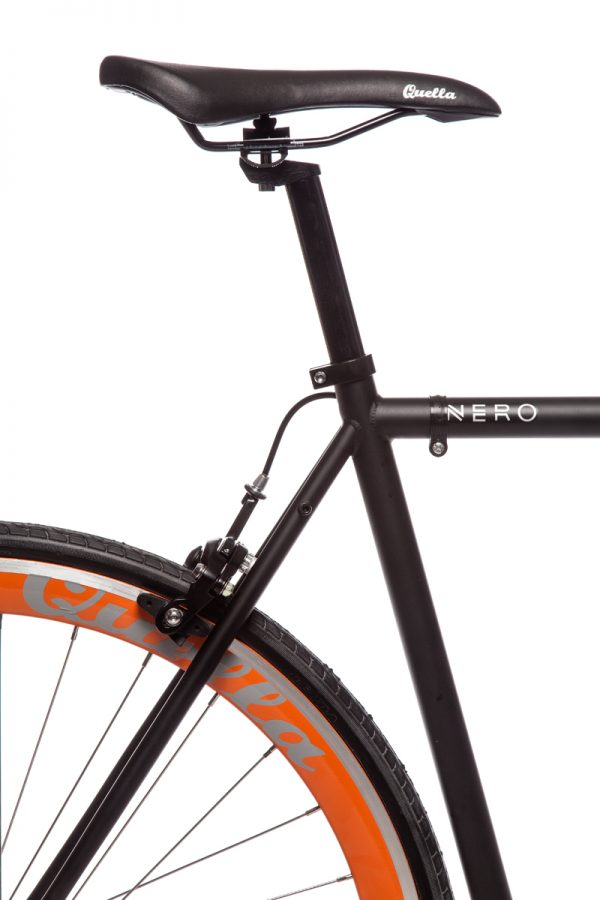 Quella Fixed Gear Bike Nero – Orange-6987