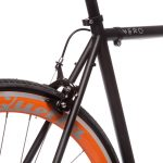 Quella Fixed Gear Bike Nero – Orange-6988