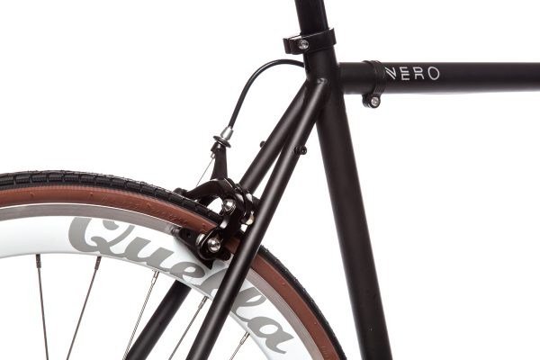 Quella Fixed Gear Bike Nero - White-6979